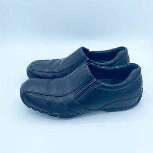 Aldo Men's Black Leather Shoes, Size 9.5/ 42